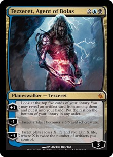 Tezzeret Agent of Bolas
