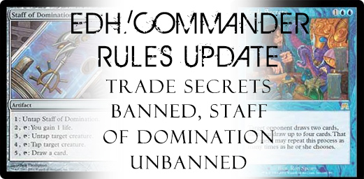 EDH Rules Update April 2013