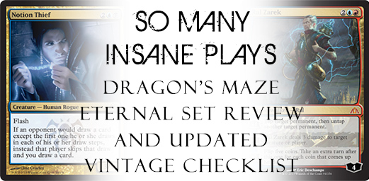 So Many Insane Plays - Dragon's Maze Eternal Set Review