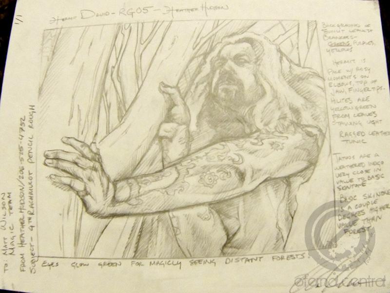 Hermit Druid Sketch