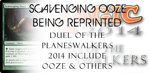 Scavenging Ooze Being Reprinted