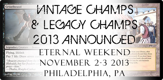 Vintage & Legacy Champs 2013 Announced