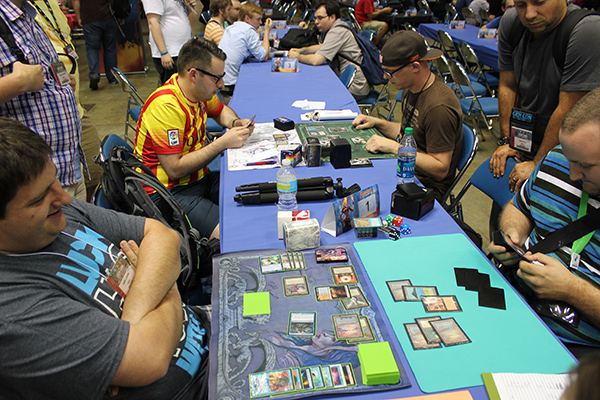 Vintage Saturday 12pm Semifinals Marc Lanigra (Grixis Control) vs. Mike Solymossy (Doomsday)