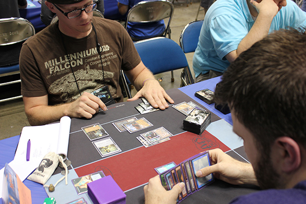 Vintage Saturday 12pm Anthony Michaels (Terranova Workshops) vs. Kevin Cron (Young Pyromancer 4C Gush)