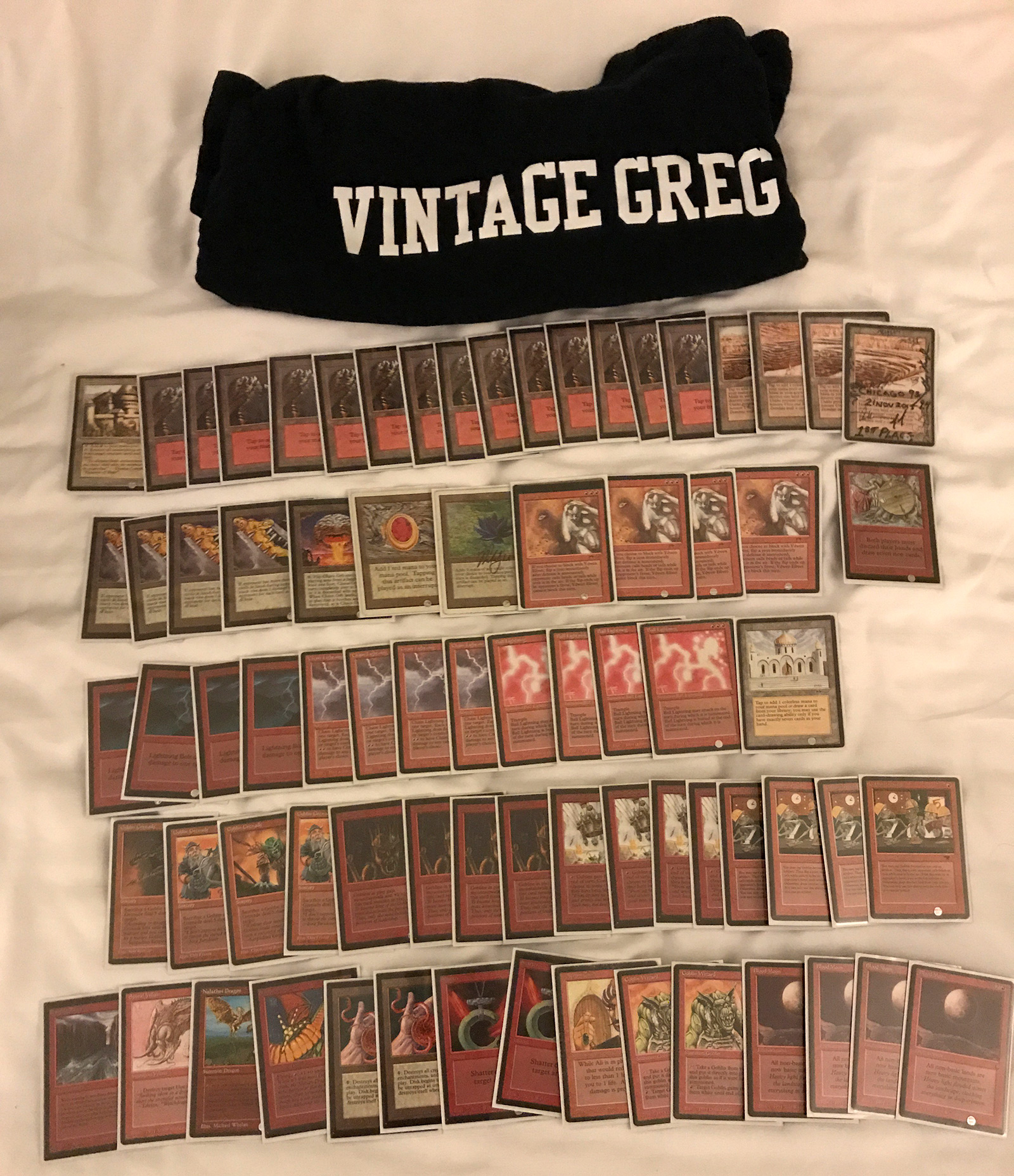 Old School 93-94 at Eternal Weekend 2017 – ALL Decklists and